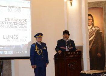 Evo: Imperialismo atenta contra soberanía latinoamericana