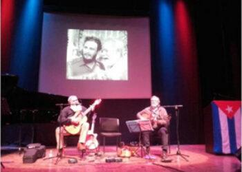 Pontevedra: así fue el homenaje a Fidel más poético y cercano a sus raíces gallegas