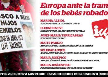 Marina Albiol participa en la misión de investigación del PE sobre bebés robados en el Estado español