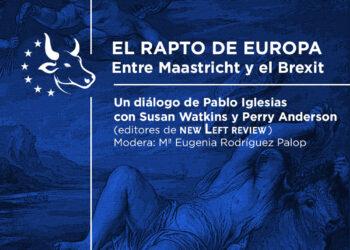 Encuentro de Pablo Iglesias con Susan Watkins y Perry Anderson, editores de New Left Review