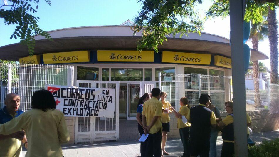 Los carteros de Vila-real se movilizan ante la falta de personal para garantizar el servicio de correo y el cumplimiento de la Ley postal