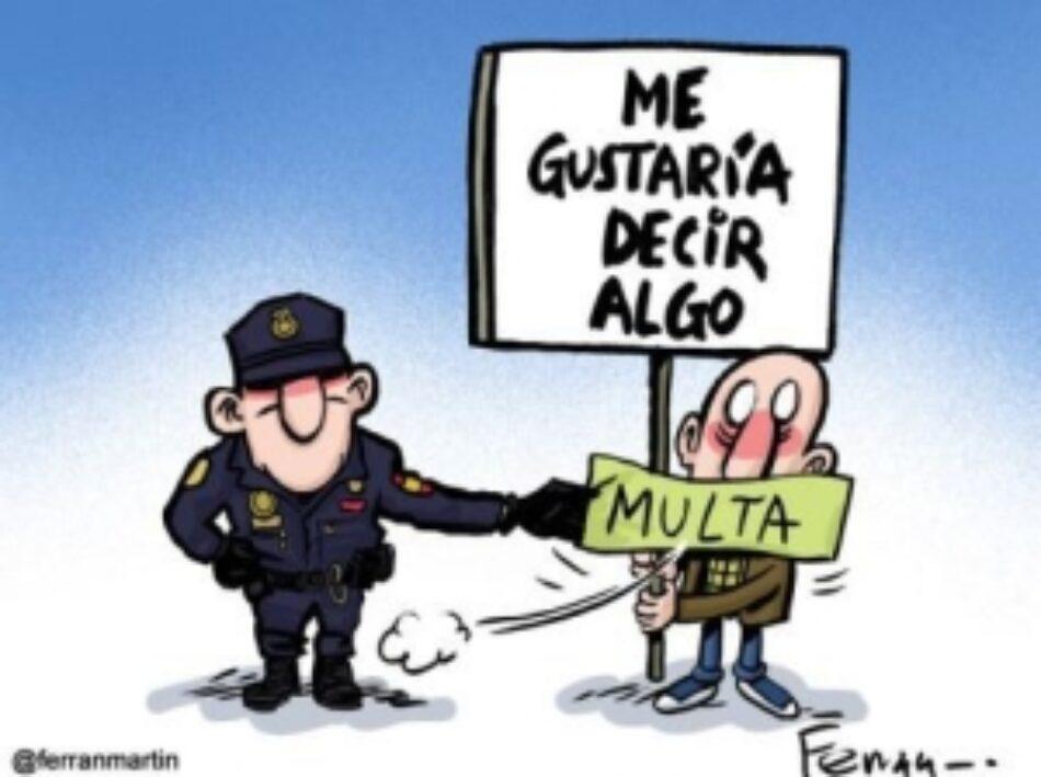 «Ley Mordaza»:  285.000 multas en dos años de vigencia