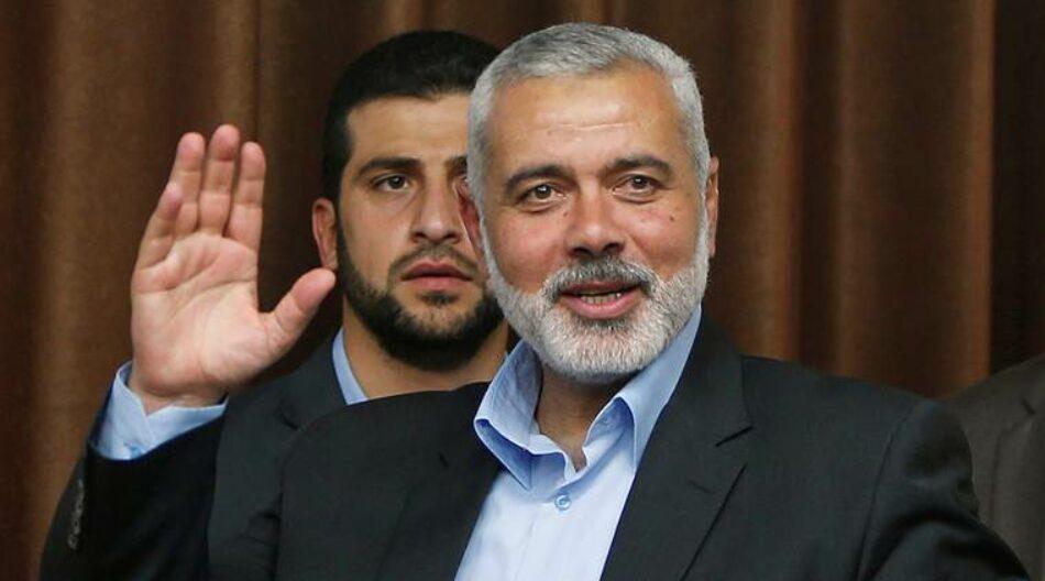 Ismail Haniyeh elegido líder de Hamas