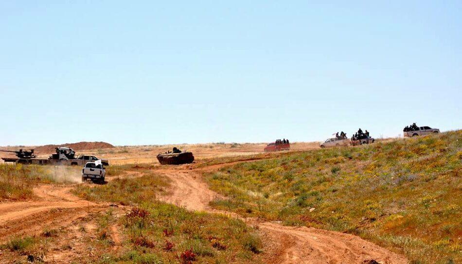 Ejército sirio aplasta al EI en el Este de Homs y logra el mayor avance del año