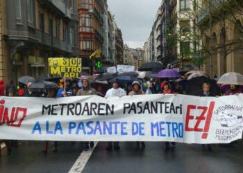 Presentan demanda judicial contra la Pasante de Metro en el TSJPV
