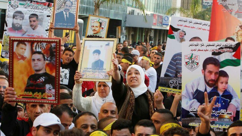 ONU insta a solucionar huelga de hambre de presos palestinos en Israel