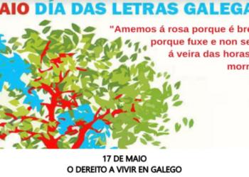 Esquerda Unida fai un chamamento á participación na manifestación da plataforma Queremos Galego. Mércores 17 de maio
