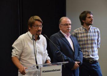 """Xavier Domènech: """"En qualsevol mobilització democràtica, hi serem"""""""