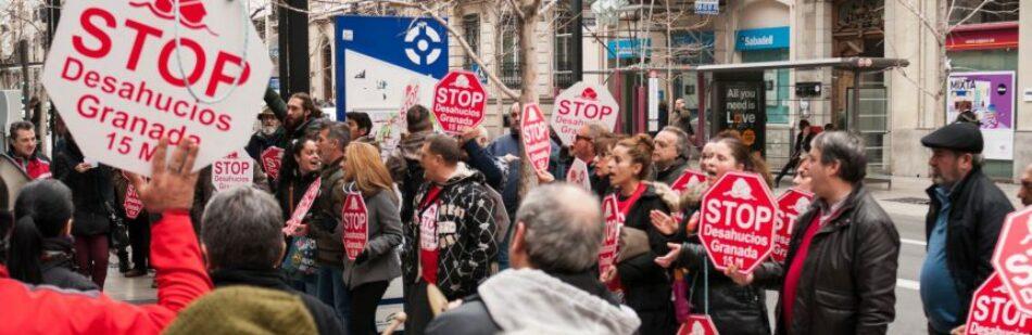 Aplican la Ley Mordaza a Stop Desahucios Granada