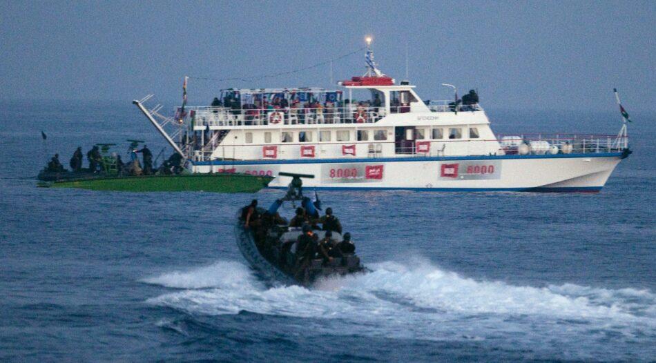 Rumbo a Gaza entrega carta en la embajada estadounidense contra la impunidad en el caso del Mavi Marmara