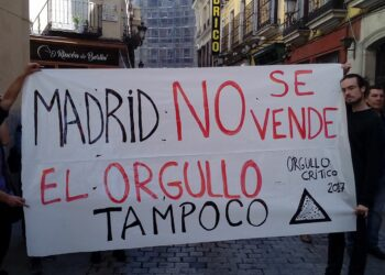 Viernes 16J: «Fiestón Orgullo Crítico 2017, MadriZ»