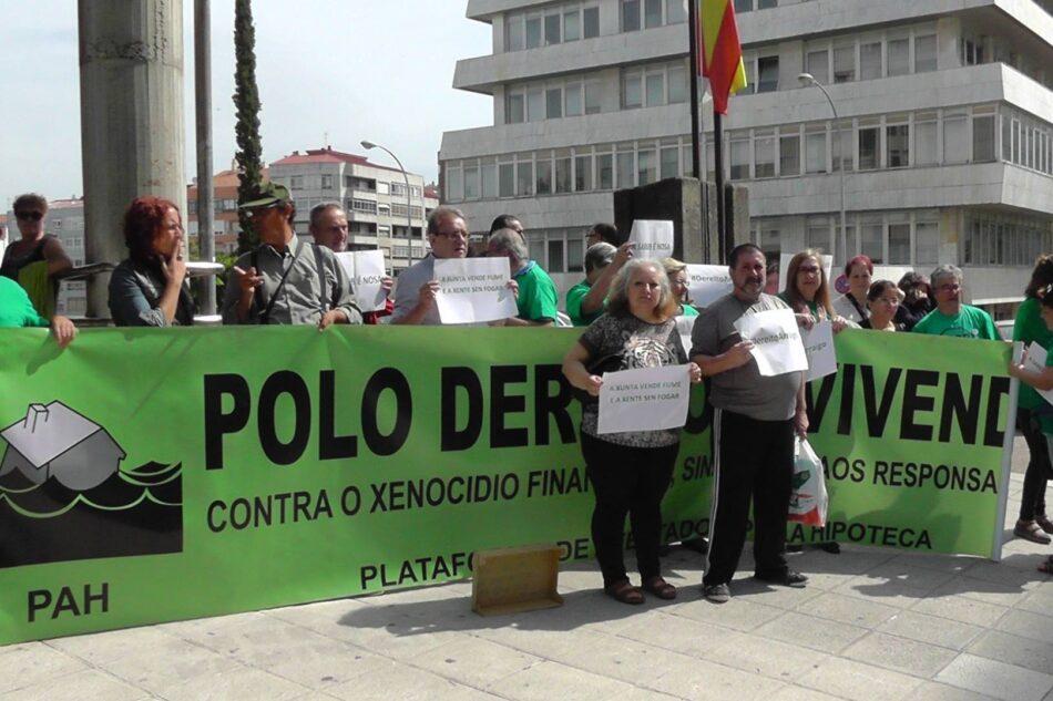 Aplazan la vista para el desahucio de una familia de Vigo tras las movilizaciones