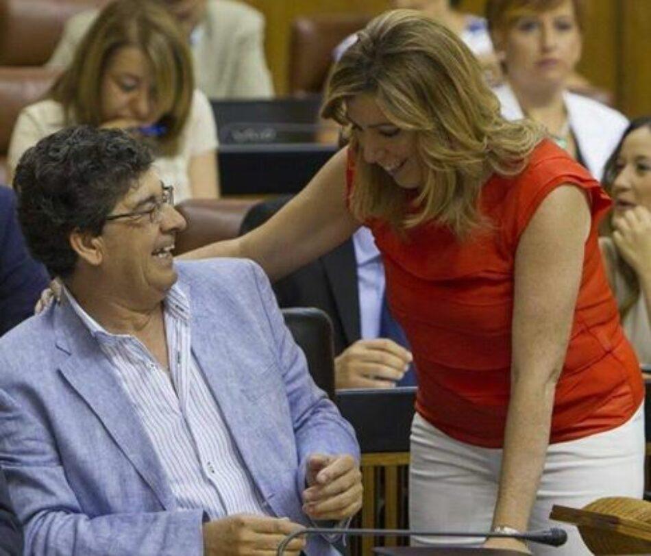 Ante el anuncio de Susana Díaz de proponer a Diego Valderas como Comisionado de Memoria Democrática