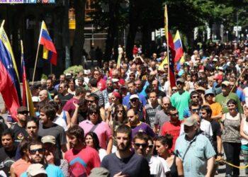 Euskal Herria abrazó a la Revolución Bolivariana: Miles marcharon en Bilbao repudiando al imperialismo