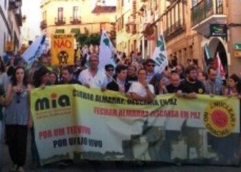 El Movimiento Ibérico Antinuclear presenta más de mil apoyos hispano-lusos para pedir el cierre nuclear