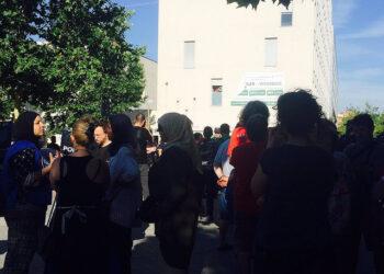 Acampada en Carabanchel por el derecho a la vivienda