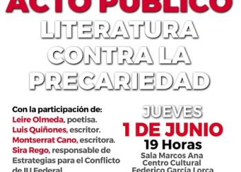 IU Rivas aborda la literatura como herramienta contra la precariedad