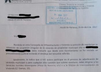 El Ayuntamiento de Alcalá desahuciará a una madre con dos niños de 2 y 4 años sin ofrecerles alternativa