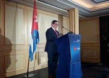 Conferencia del Canciller cubano Bruno Rodríguez Parrilla: «jamás negociaremos bajo amenaza»