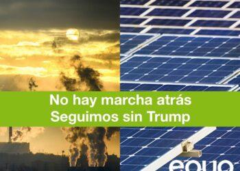 """López de Uralde """"No puede haber marcha atrás en la lucha contra el cambio climático"""""""