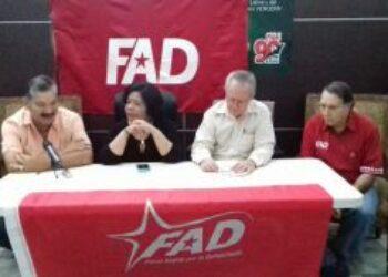 Panamá. FAD, recuperamos el instrumento político electoral del pueblo