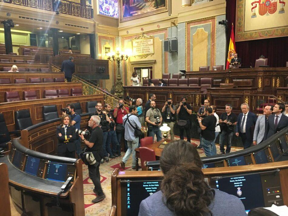 """Garzón advierte de que existe """"una corrupción ilegal y otra legal"""" debida a """"un régimen político que mantuvo intacta la cultura de la impunidad del franquismo y a su oligarquía"""""""