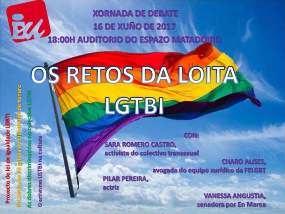 """Esquerda Unida Compostela organiza a xornada de debate: """"Os retos da loita LGTBI"""" con motivo do Orgullo 2017"""