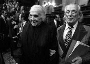 """Garzón se compromete ante quienes lucharon """"con un coste altísimo"""" contra el franquismo a que IU """"continuará esa lucha para mejorar esta democracia de mínimos"""""""