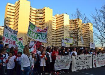 Ahora Madrid pide a la Comunidad de Madrid pare el cierre del IES Pérez Galdós