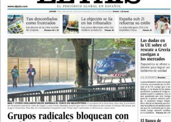 La Audiencia Nacional anula la reducción salarial que el periódico El País quiso imponer a sus trabajadores