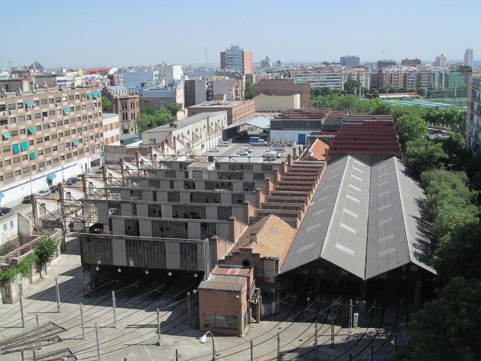 Ganemos Madrid se posiciona a favor de la protección de las Cocheras de Metro de Cuatro Caminos