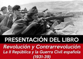 IZAR Almería presenta libro sobre la 2ª República y la guerra civil del historiador Antonio Liz