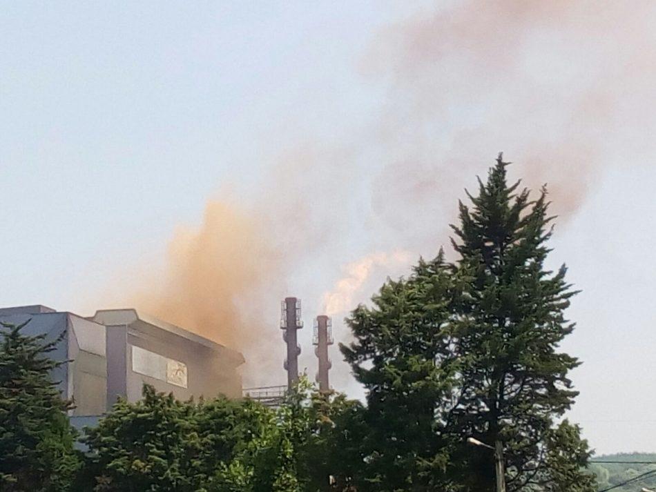 Emisiones naranja de Arcelor Carreño