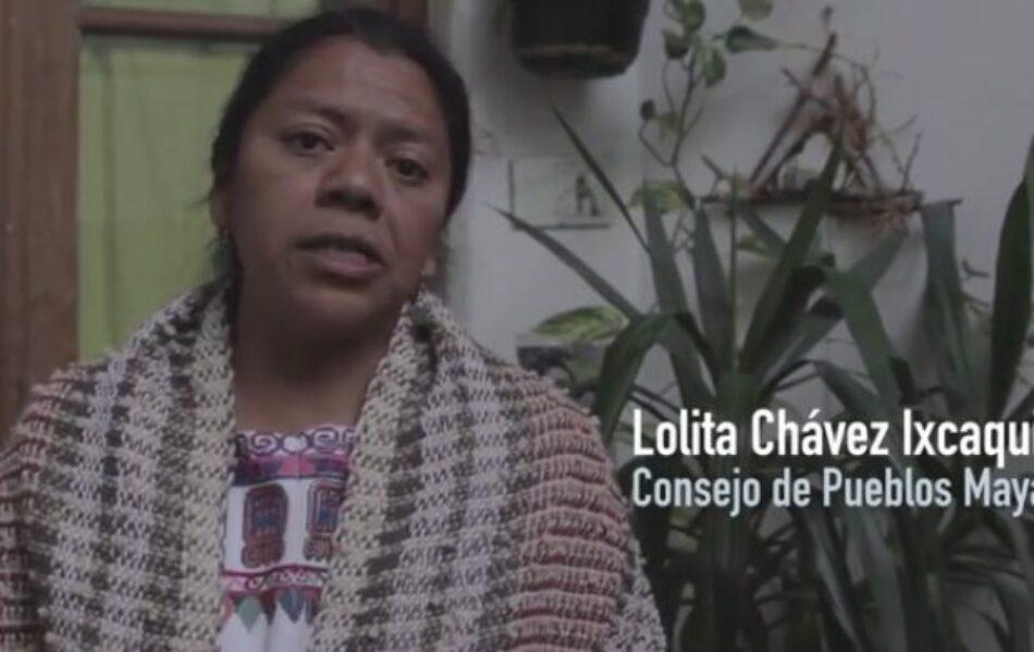 Guatemala: Atacan a balazos vehiculo donde viajaban la conocida lideresa indígena Lolita Chávez y otros dirigentes populares
