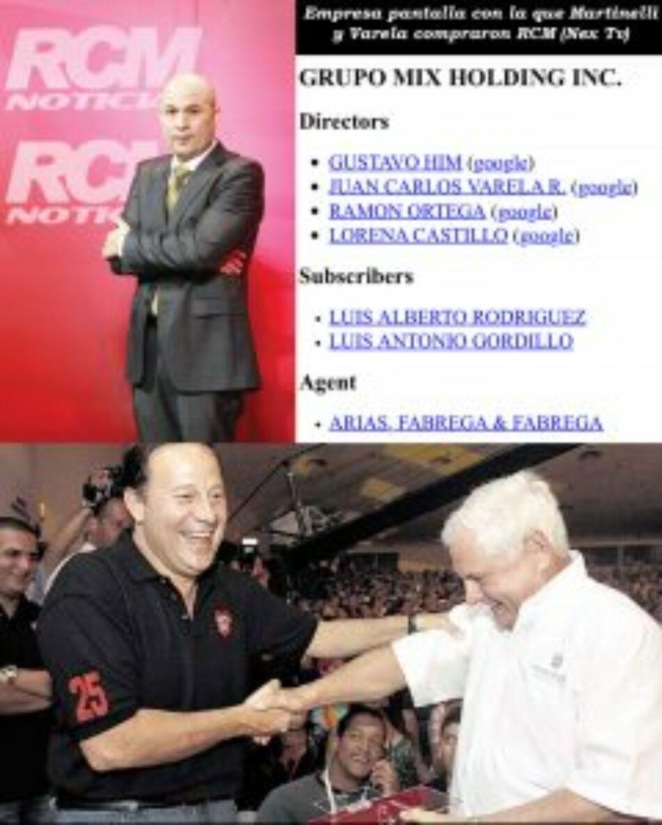 Panamá. Varela también compró medios con Martinelli