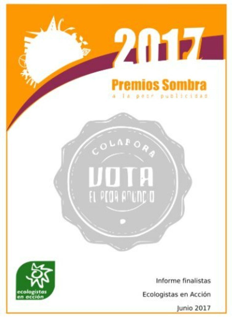 Décima edición de los Premios Sombra a la peor publicidad