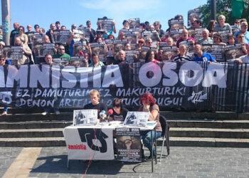 Euskal Herria: Convocan manifestación por la amnistía de los presos y presas vascas el 24 de junio