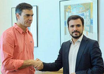 Garzón arranca a Sánchez compromisos concretos para que el PSOE apoye despenalizar finalmente la eutanasia y una reforma electoral que acabe con la falta de proporcionalidad que penaliza a IU