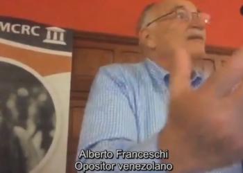 Denuncian en la Audiencia Nacional al opositor venezolano que llamó a dar a los chavistas «piedra, plomo y candela»