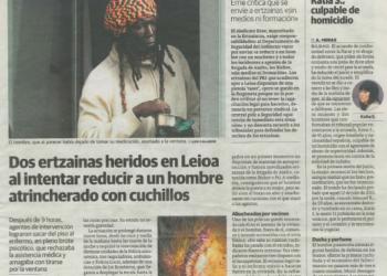 La Comisión de Arbitraje de la FAPE da la razón a SOS-Racismo al considerar que El Correo vulneró el derecho a la intimidad al publicar una fotografía y la identidad de un ciudadano