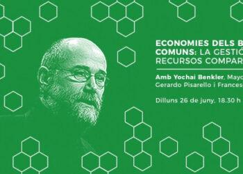 Debat amb Yochai Benkler «Economies dels béns comuns»