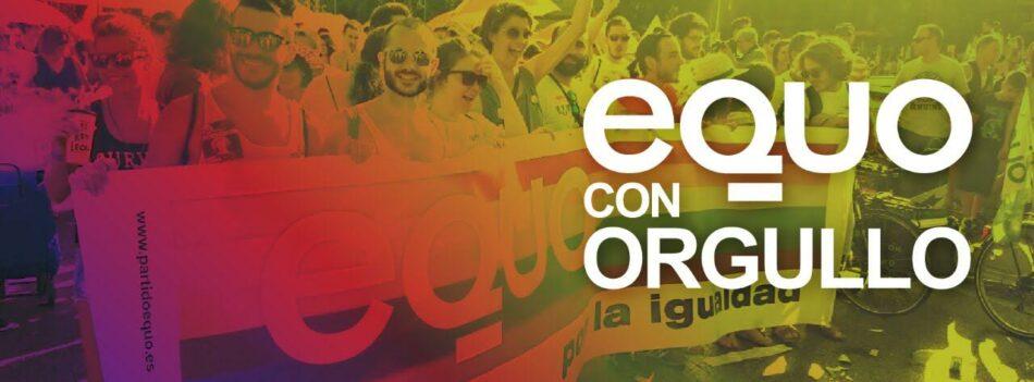 EQUO reclama leyes efectivas para garantizar los Derechos LGTBI