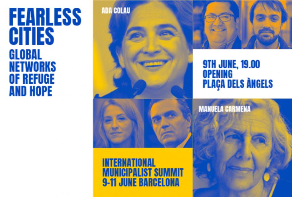"Naomi Kleim, José Mujica i Yannis Varoufakis donen suport a la Trobada ""Ciutats sense por"""