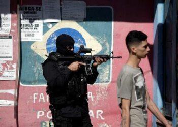90 policías asesinados en Brasil en lo que va de 2017
