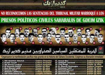 La condena a los presos políticos saharauis de Gdeim Izik es una vergüenza para el mundo