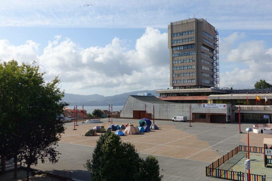 La Acampada contra la Pobreza de Vigo resiste