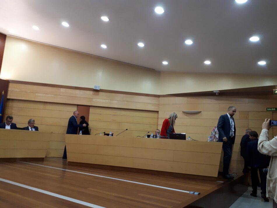 La oposición de Las Rozas abandona el Pleno para no ser cómplices de la oscura gestión del PP