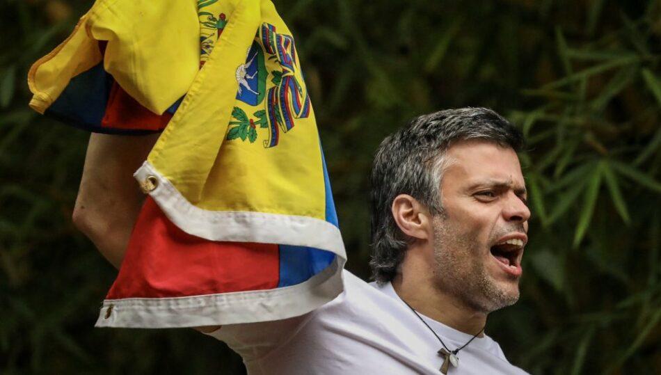 Alberto Garzón considera positiva la excarcelación de Loepoldo López si sirve para alcanzar la paz en Venezuela