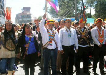 Primer acercamiento del gobierno con pueblos indígenas en Ecuador