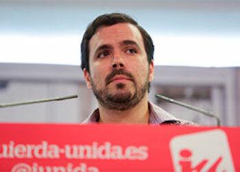 """Garzón muestra su absoluto rechazo al techo del gasto pactado por el Gobierno y C`s, y lo tacha de """"negativo, muy injusto y muy incoherente"""""""